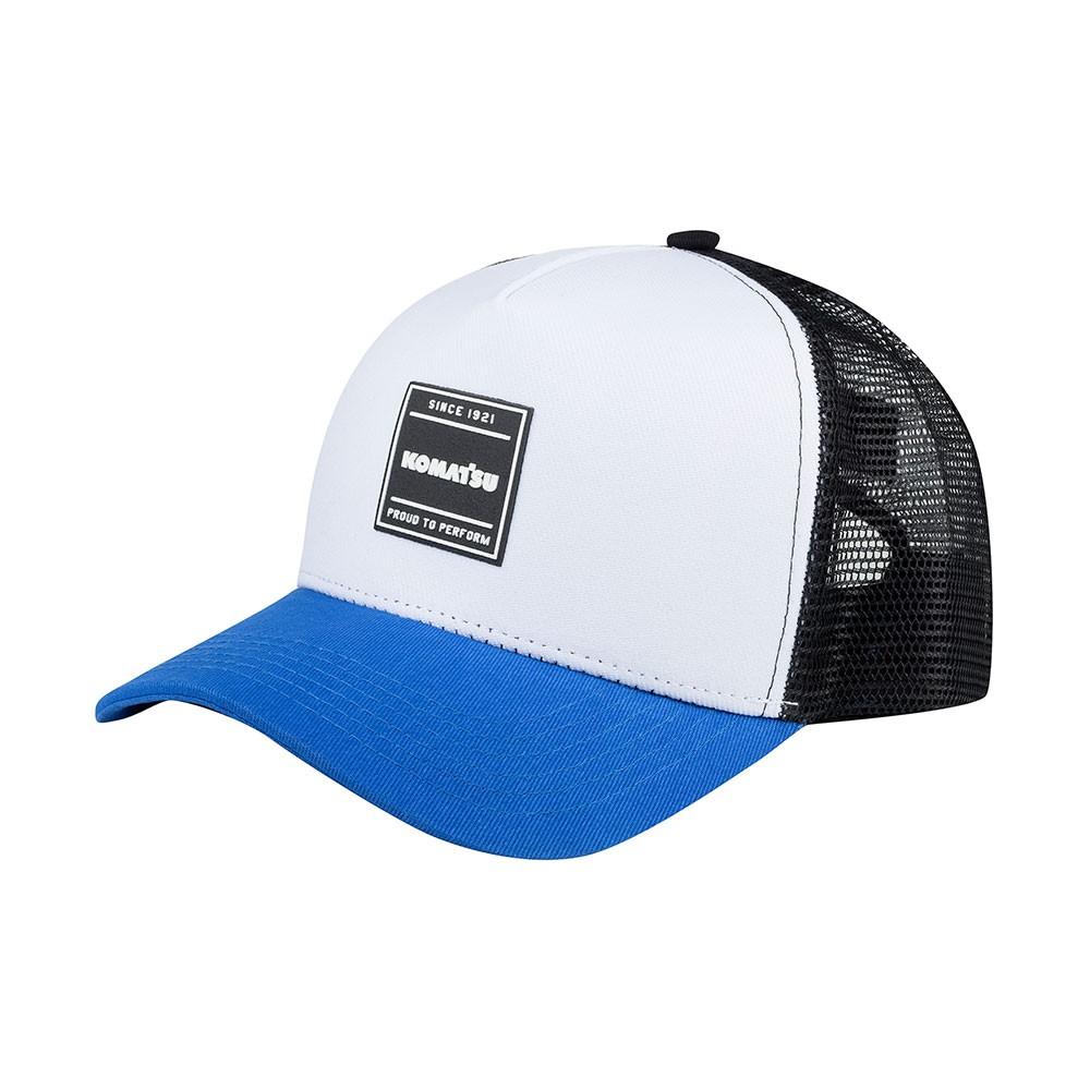 Boné KOMATSU Trucker Blue/White
