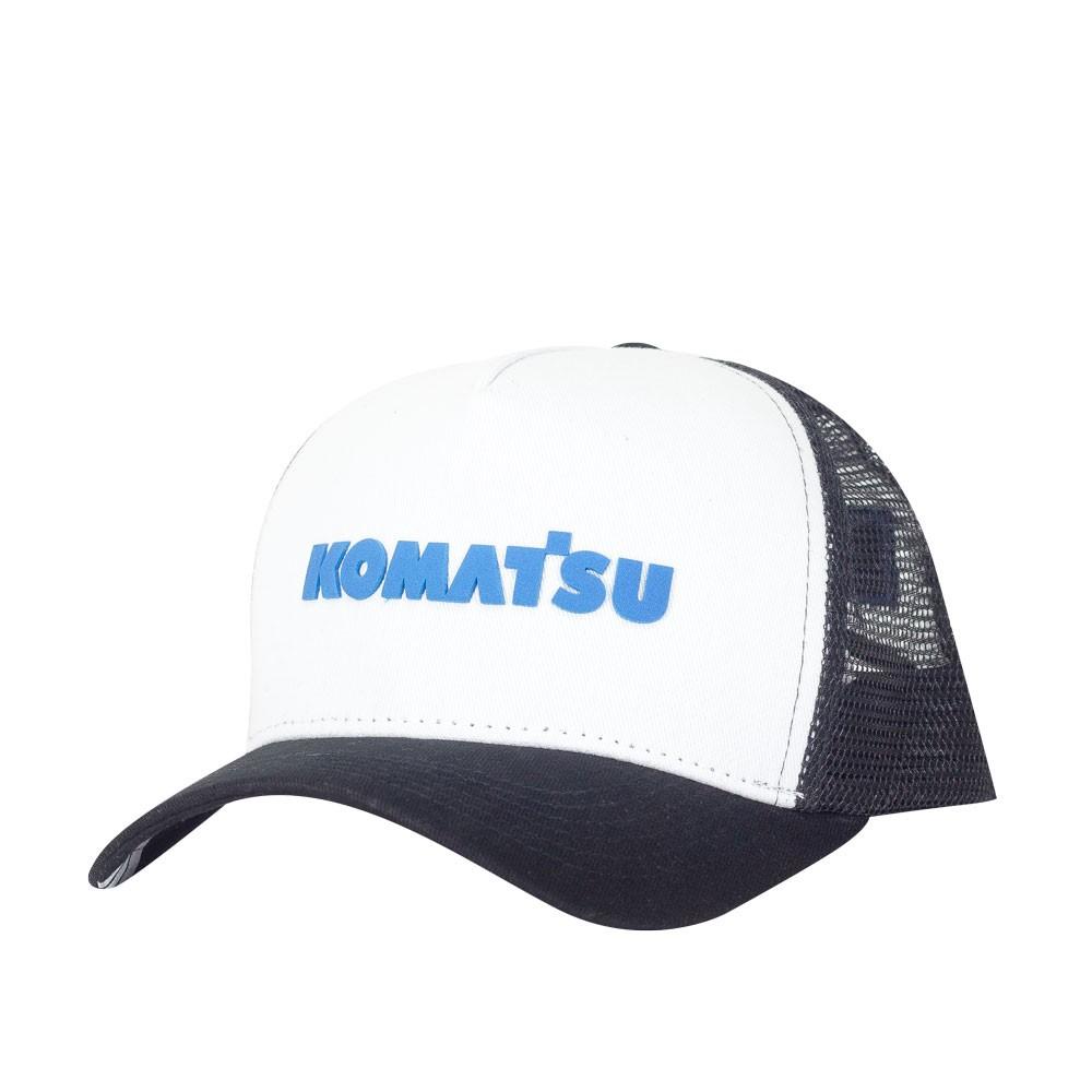 Boné KOMATSU Trucker White