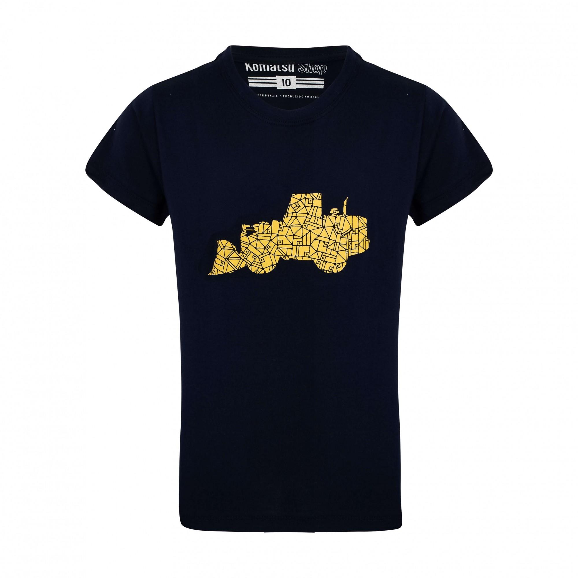 Camiseta Inf. KOMATSU Loader Marinho