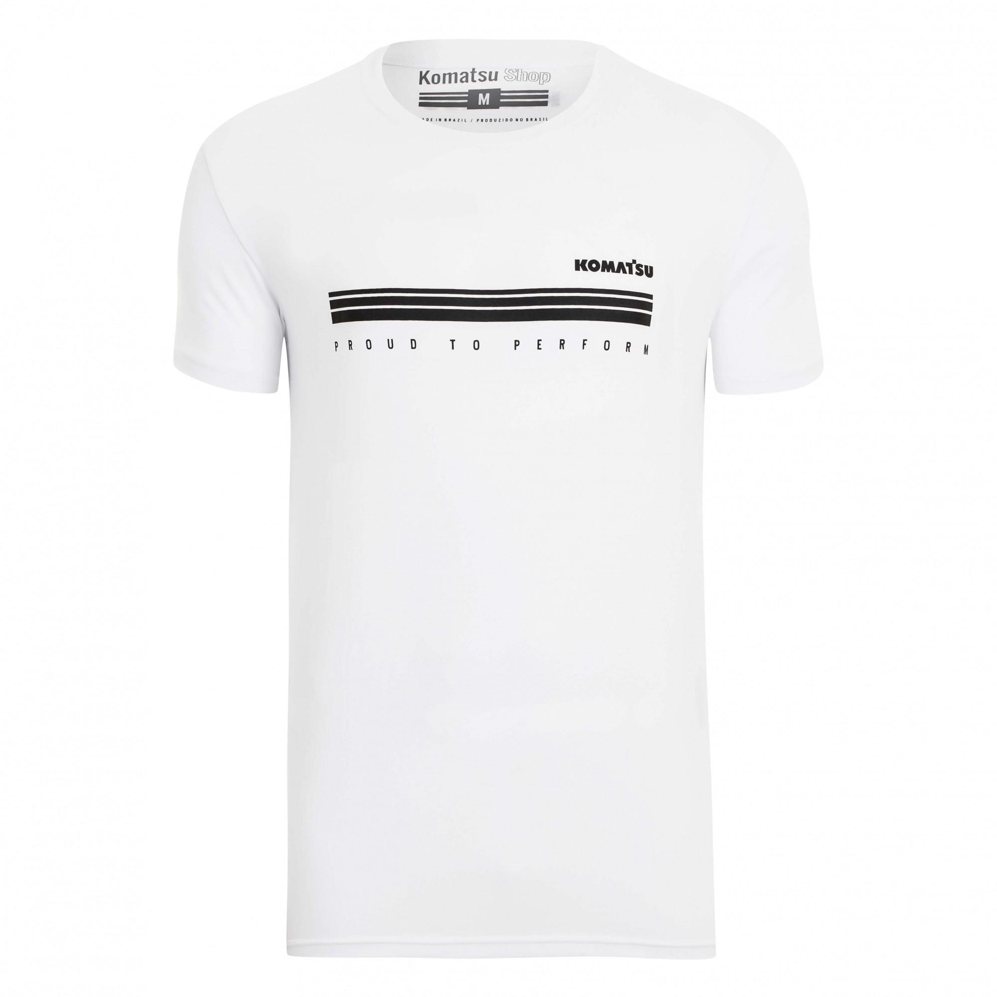 Camiseta Masc. KOMATSU Perform