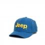 Boné Clássico JEEP Logo Bordado - Ecológico - Azul