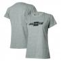 Camiseta Fem. Chevrolet Classics Logo - Cinza Mescla