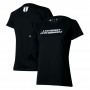 Camiseta Fem. Chevrolet S10 Badge - Preta