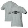 Camiseta Inf. Chevrolet Classics Logo - Cinza Mescla