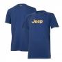 Camiseta Masc. Especial JEEP Logo - Azul Marinho