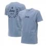 Camiseta Masc. Premium JEEP Lavada Estonada Prize - Azul