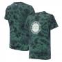 Camiseta Masc. Premium JEEP Lavada TieDye Round - Verde