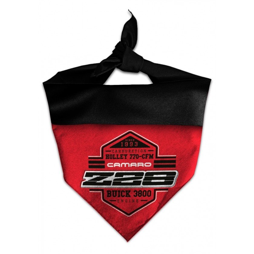 Bandana Chevrolet Camaro Z28 - Vermelha