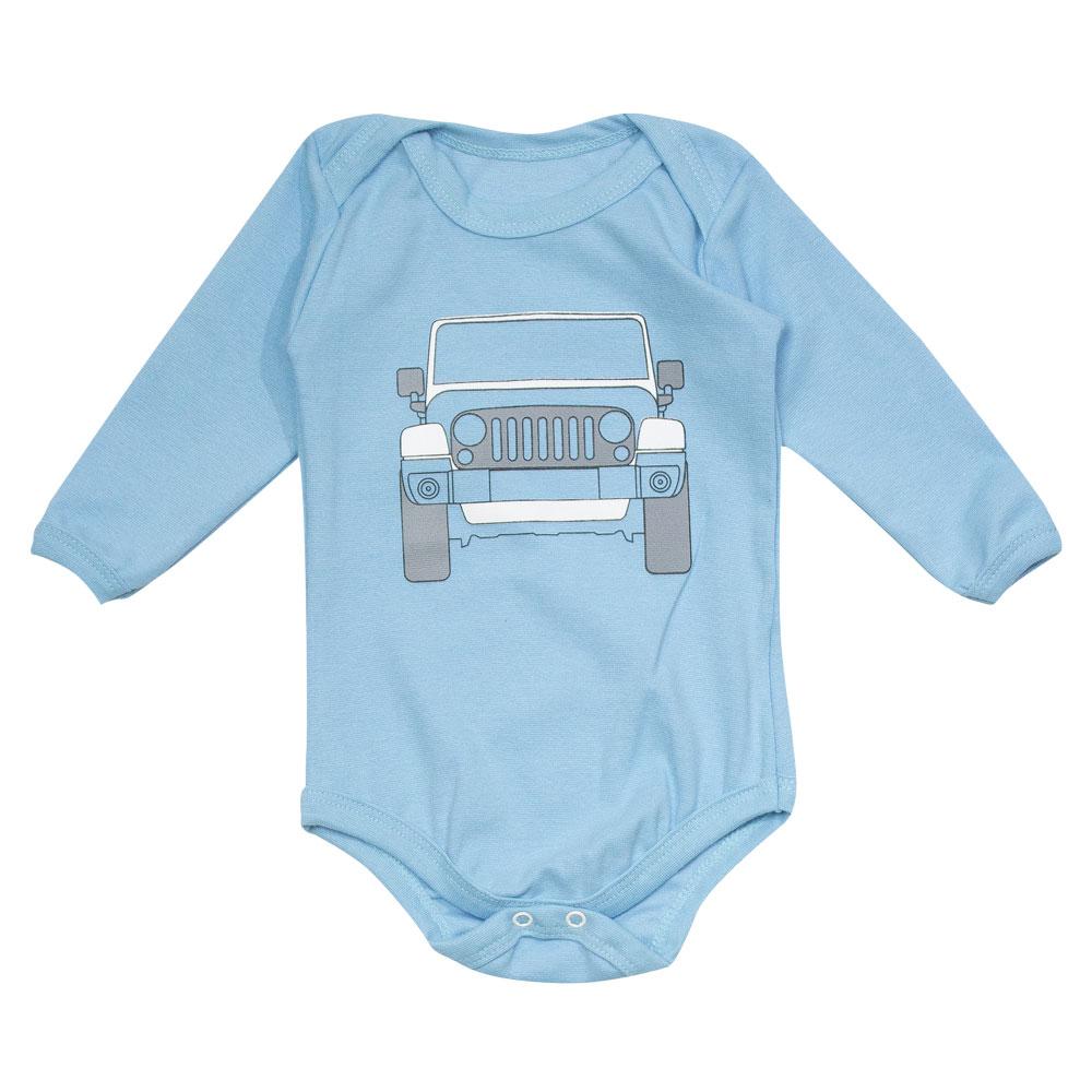 Body Bebê JEEP Wrangler - Azul Claro