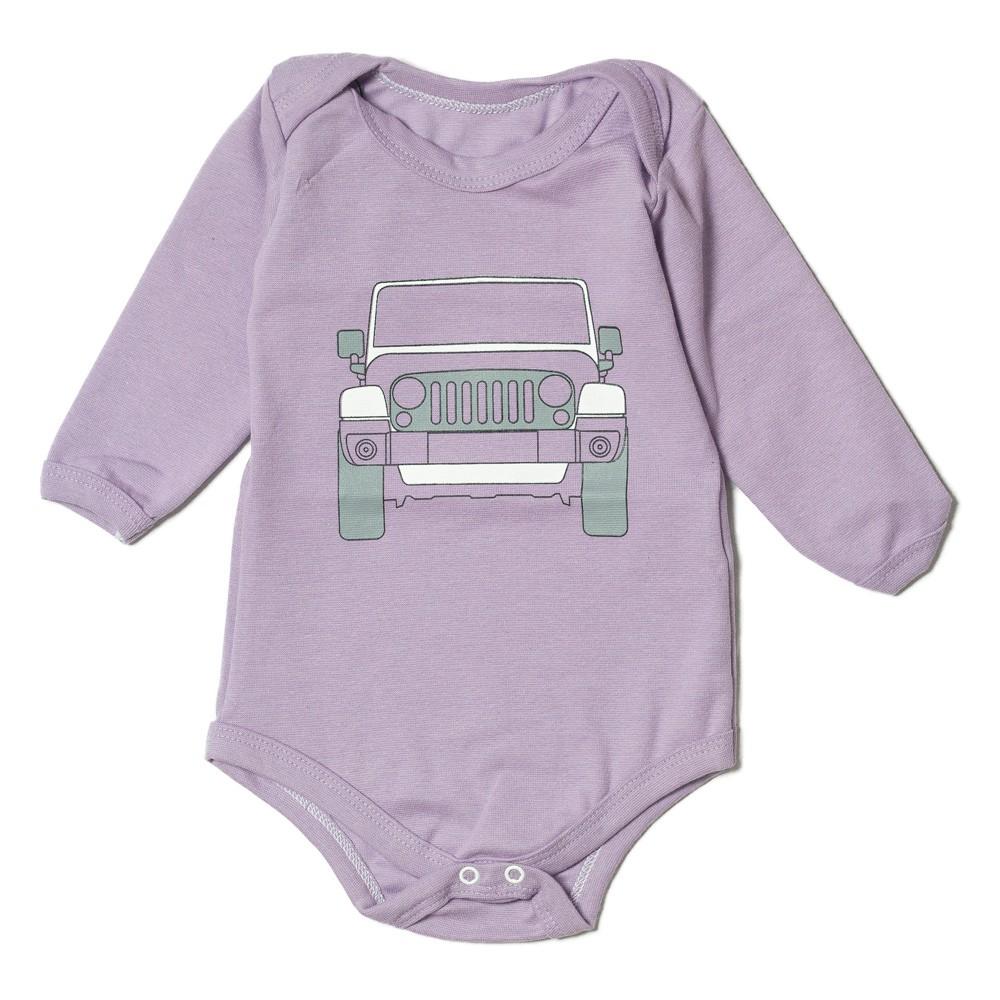 Body Bebê JEEP Wrangler - Lilás Claro