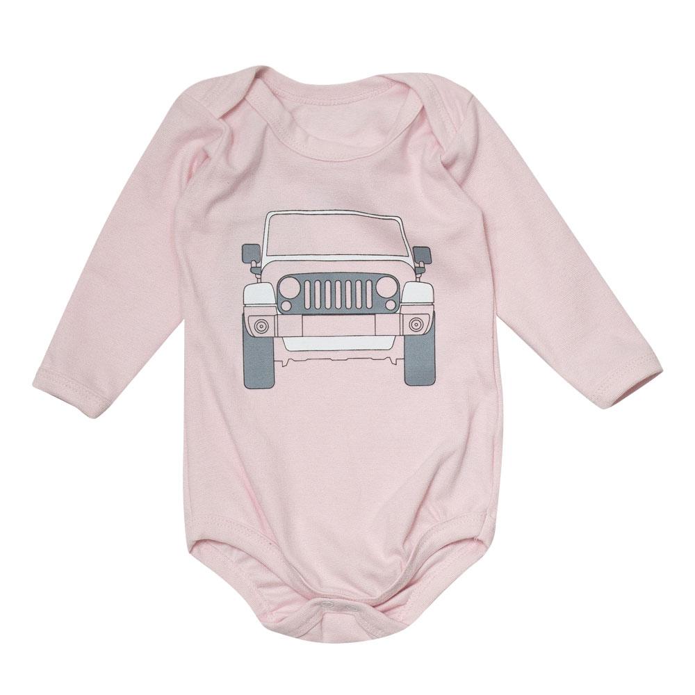 Body Bebê JEEP Wrangler - Rosa Claro
