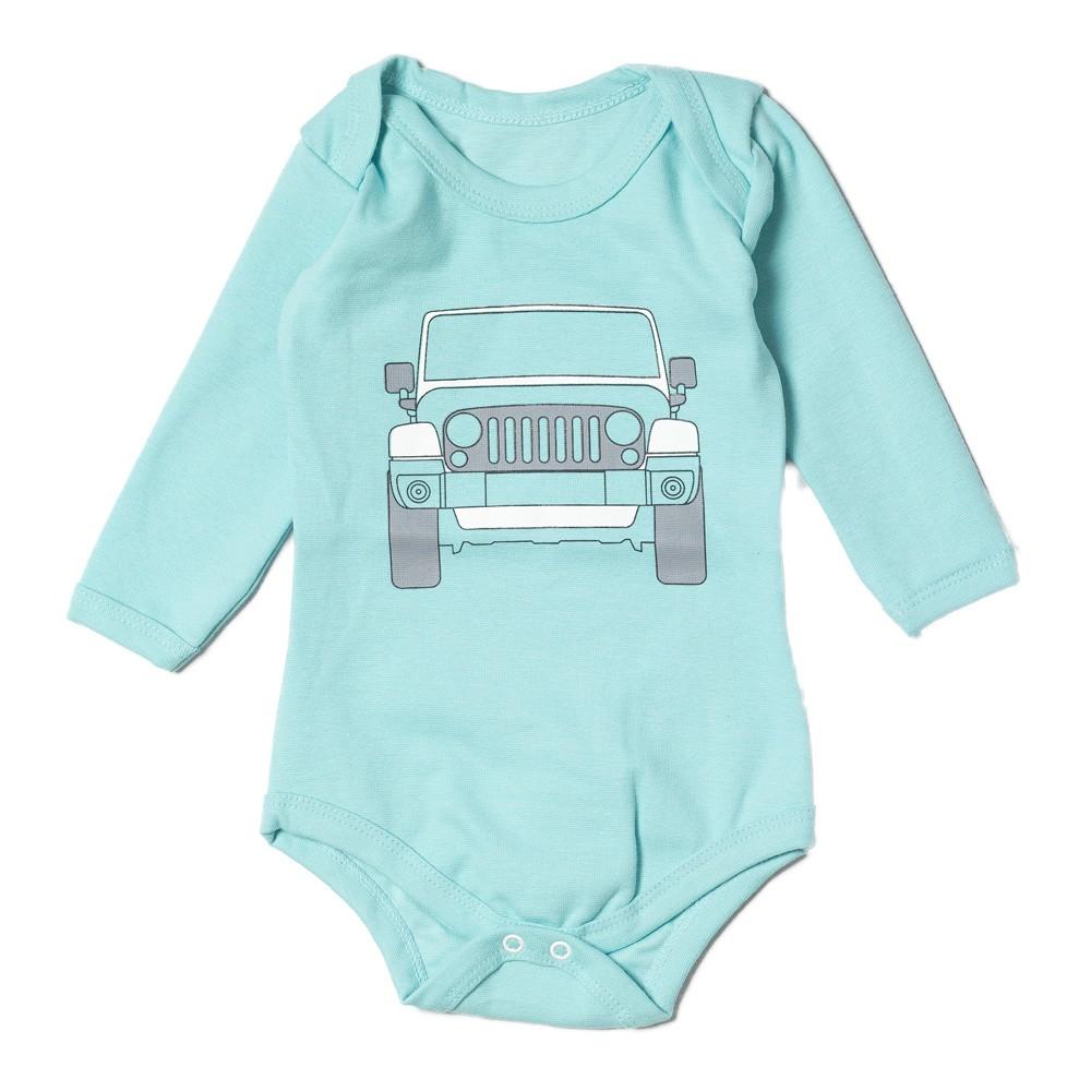 Body Bebê JEEP Wrangler - Verde Água