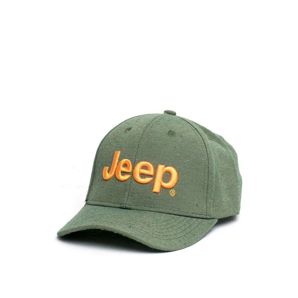 Boné Clássico JEEP Logo Bordado Ecológico - Verde