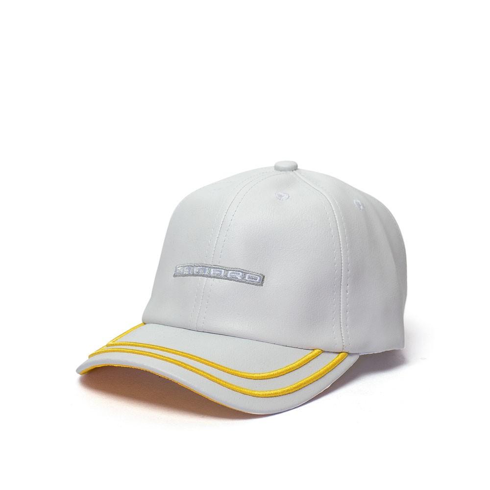 Boné Chevrolet Camaro Sign - Couro PU Branco