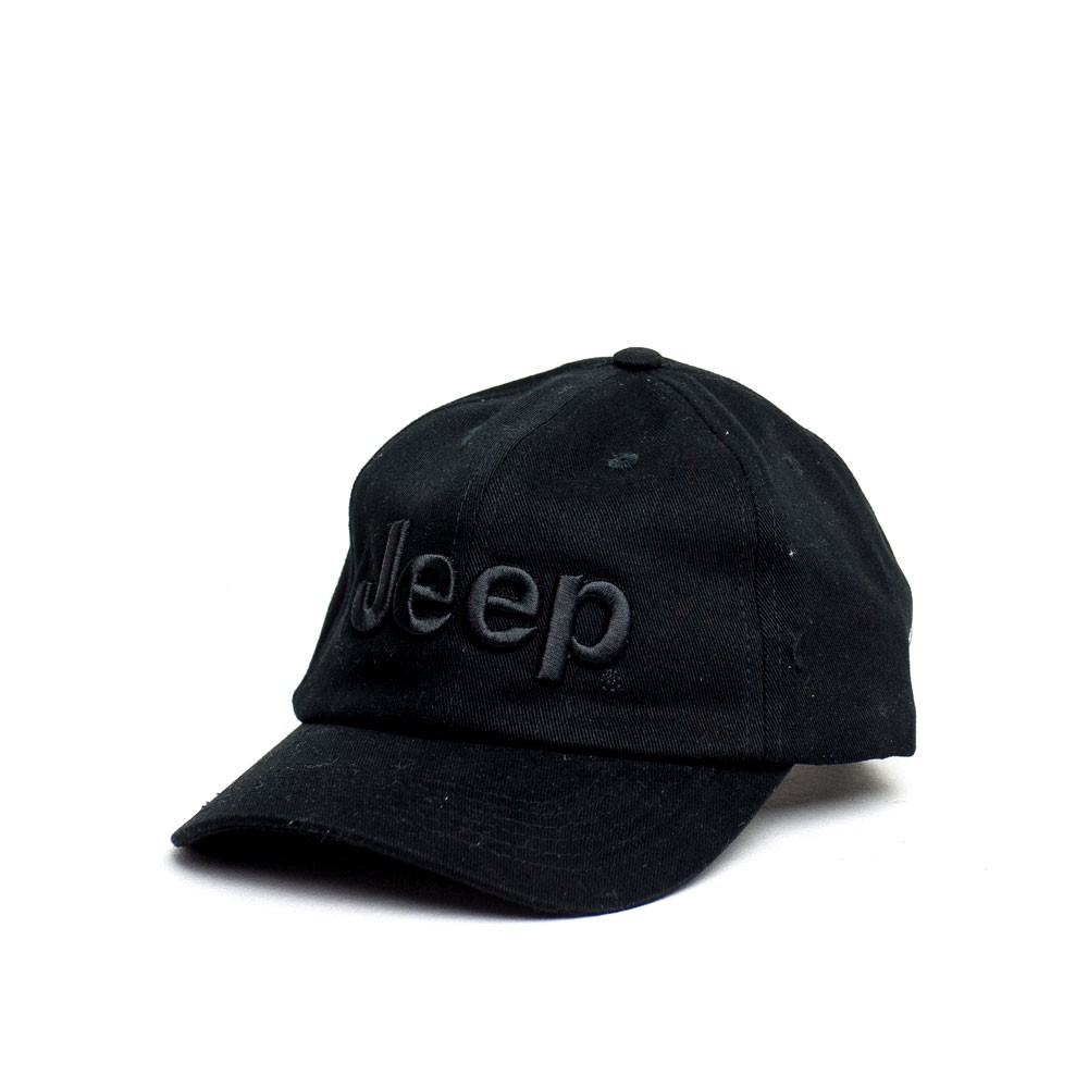 Boné Dad Hat JEEP - Logo Bordado - Preto