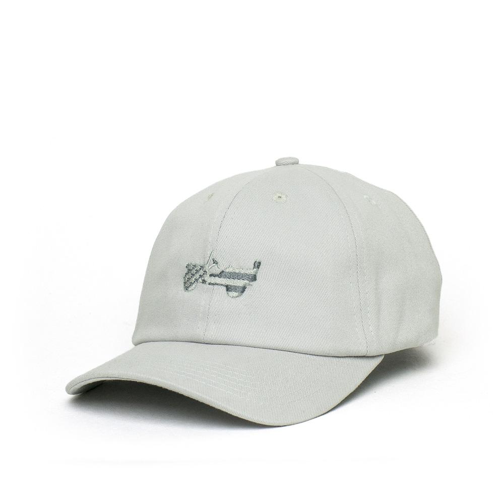 Boné JEEP Dad Hat 80th Anniversary Badge - Cinza