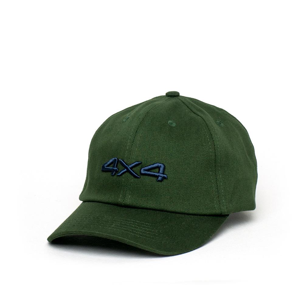 Boné JEEP Dad Hat Compass 4x4 - Verde Musgo