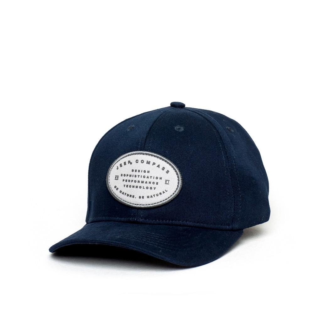 Boné JEEP Dad Hat Compass Lettering- Azul Marinho