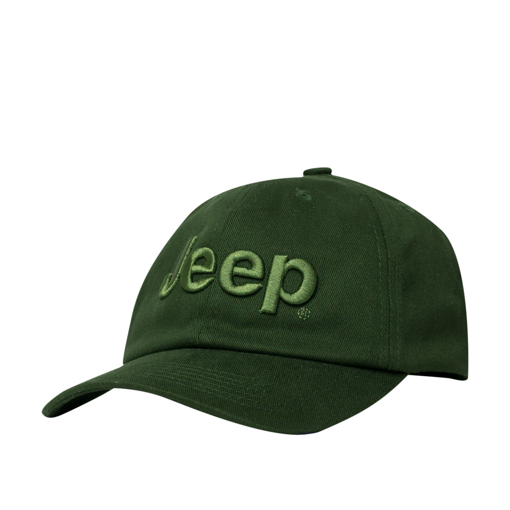 Boné JEEP Dad Hat Logo Bordado - All Green