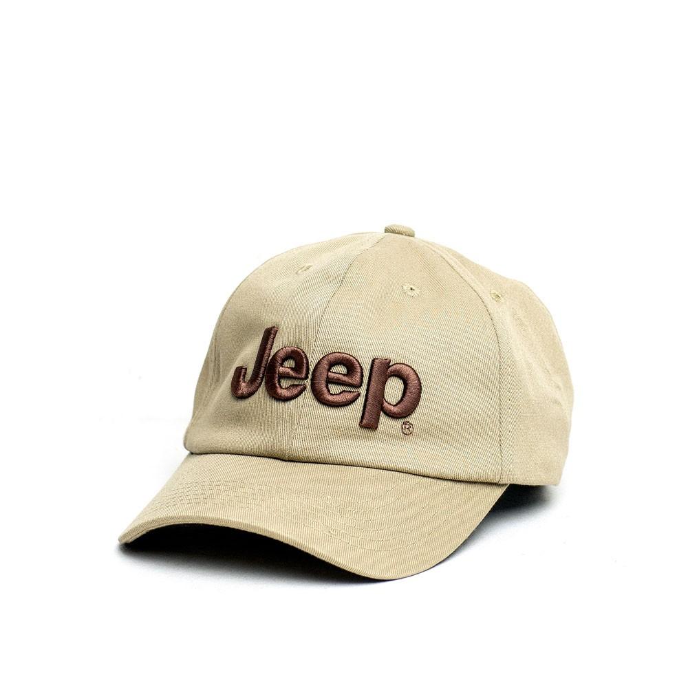 Boné JEEP Dad Hat Logo Bordado - Marrom