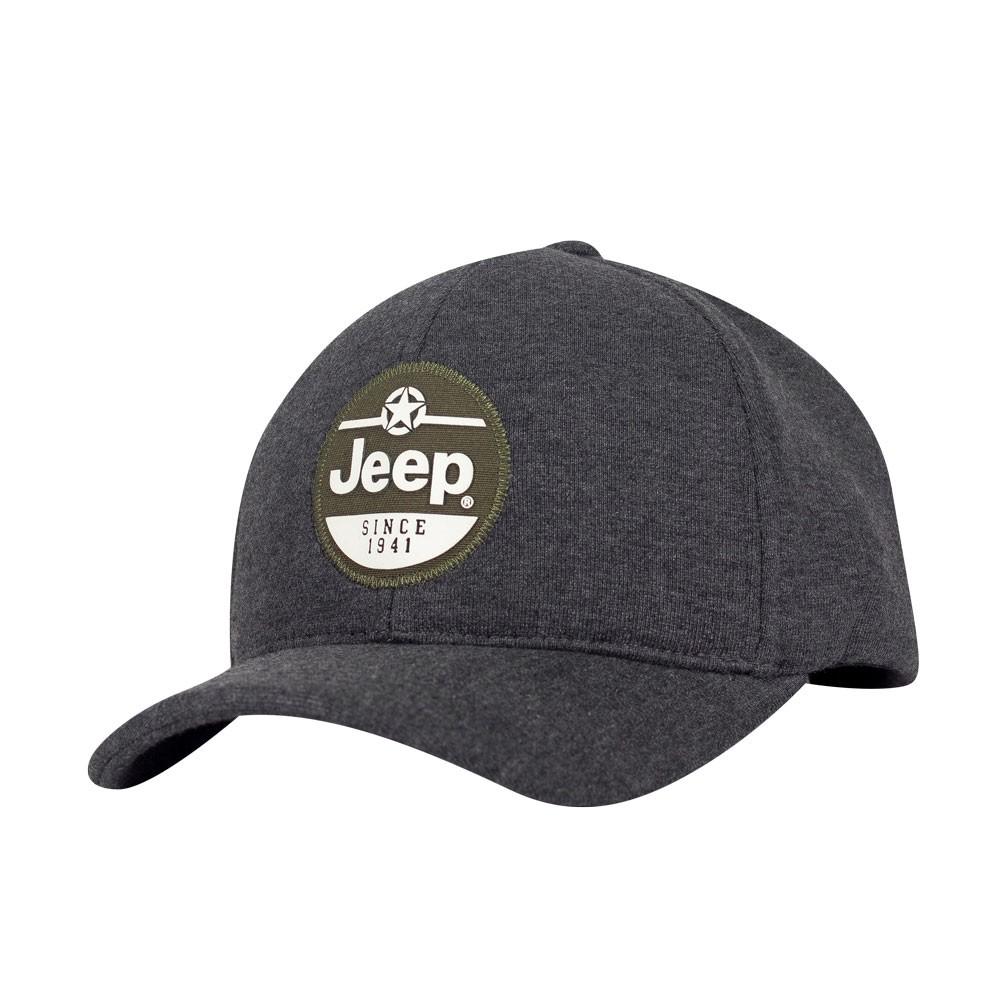 Boné Jeep Since 1941 Moletom Cinza Escuro