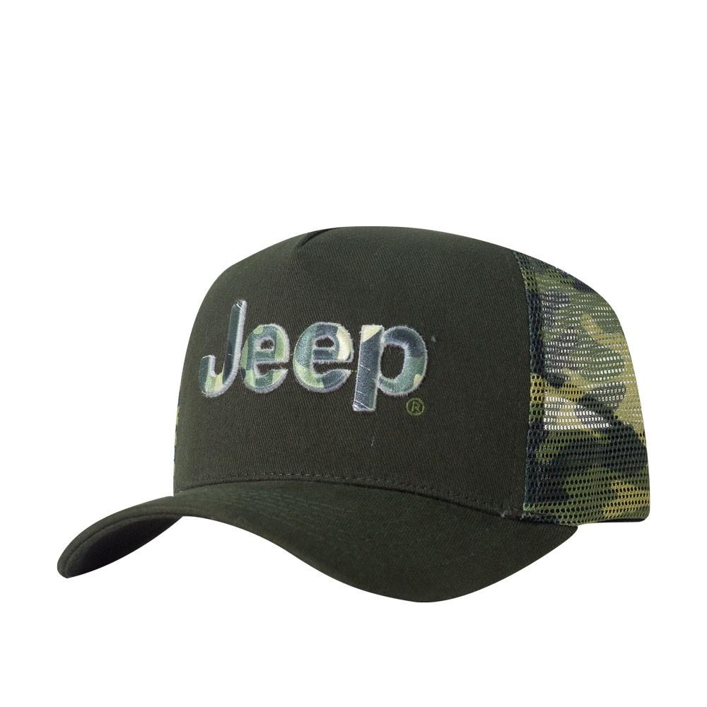 Boné Jeep Trucker Militar