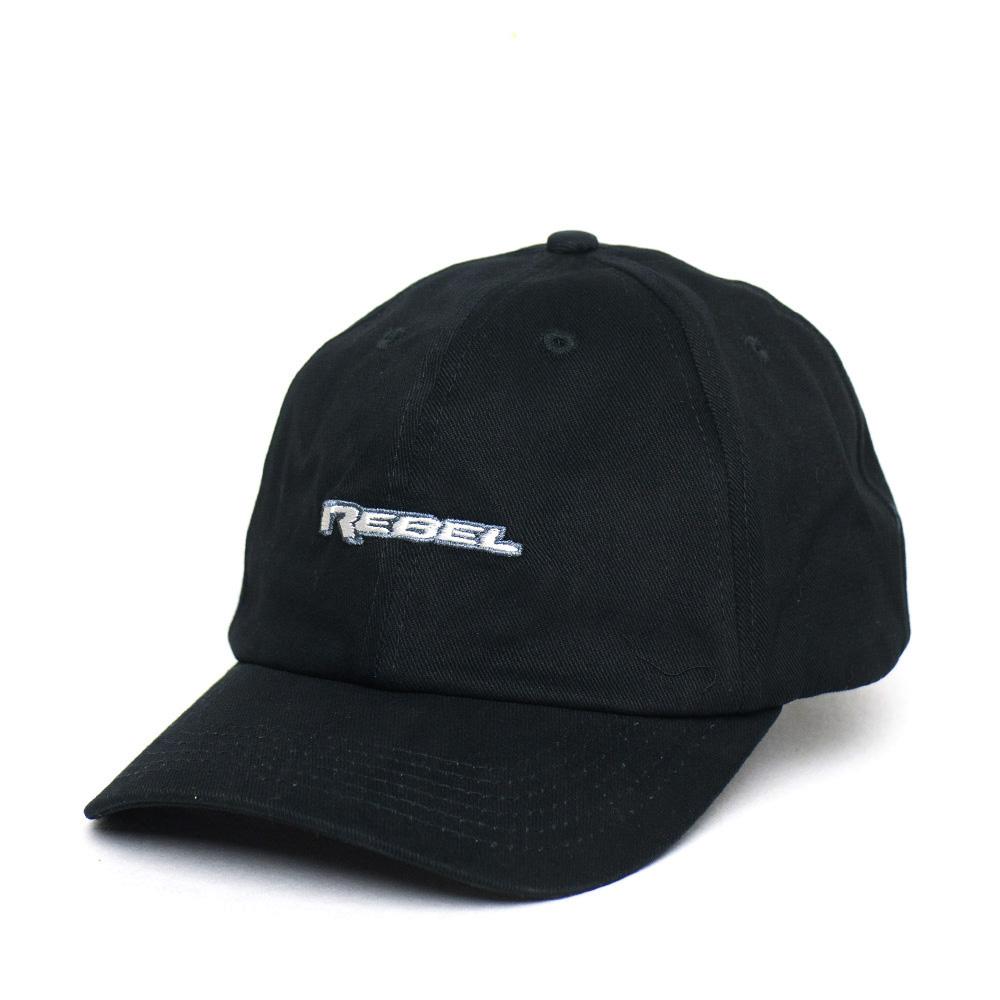 Boné RAM Dad Hat Rebel Logo - Preto