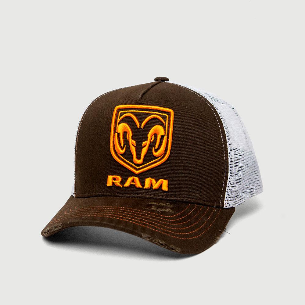 Boné RAM Trucker - Marrom