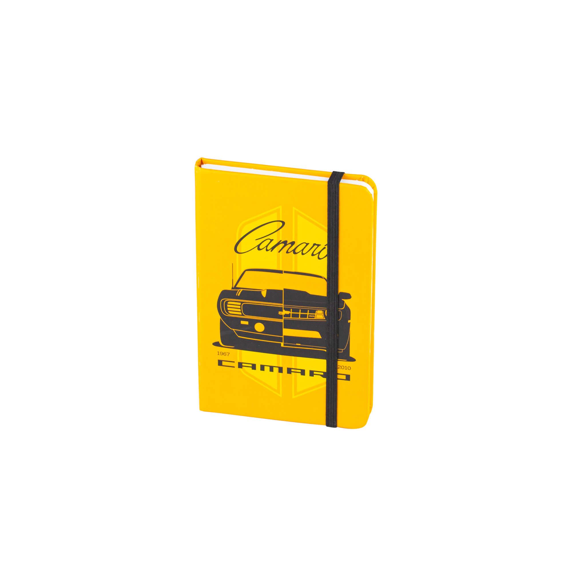 Caderneta de Anotação Chevrolet Camaro - Amarelo - 96 folhas