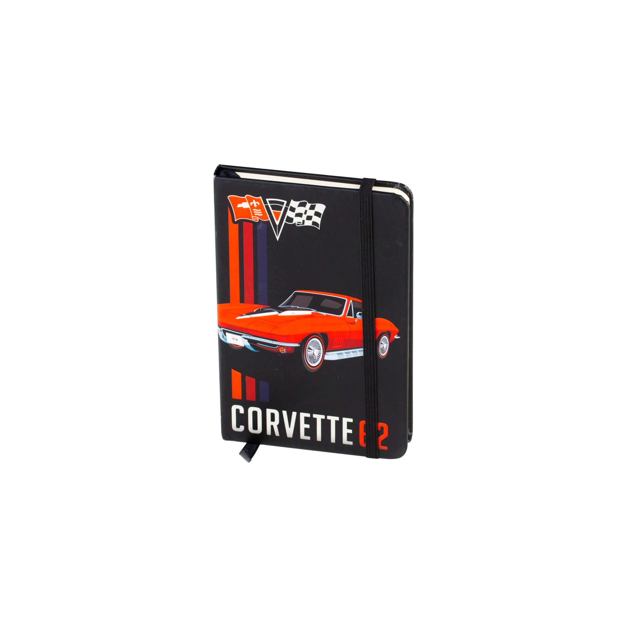 Caderneta de Anotação Chevrolet Corvette - Preto - 96 folhas