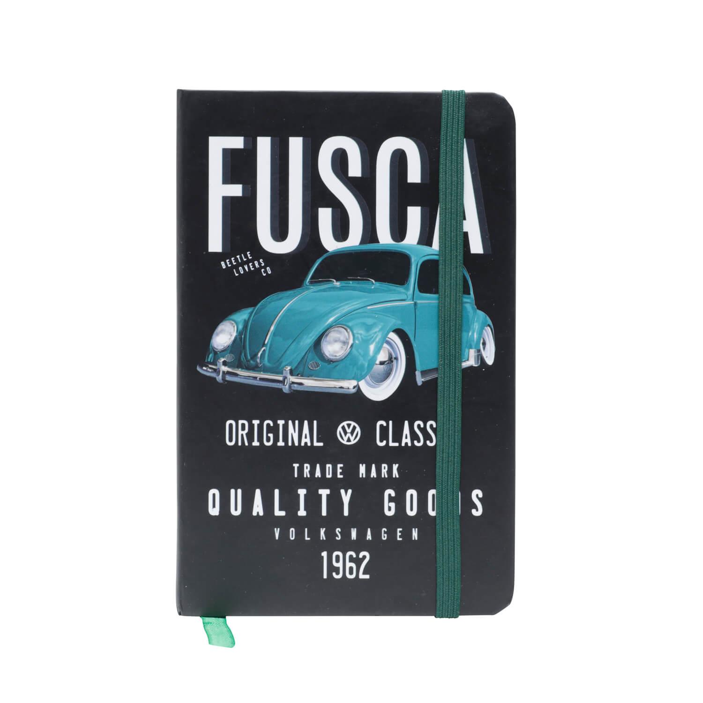 Caderneta de Anotação VW - Fusca Classic - Preto - 96 folhas