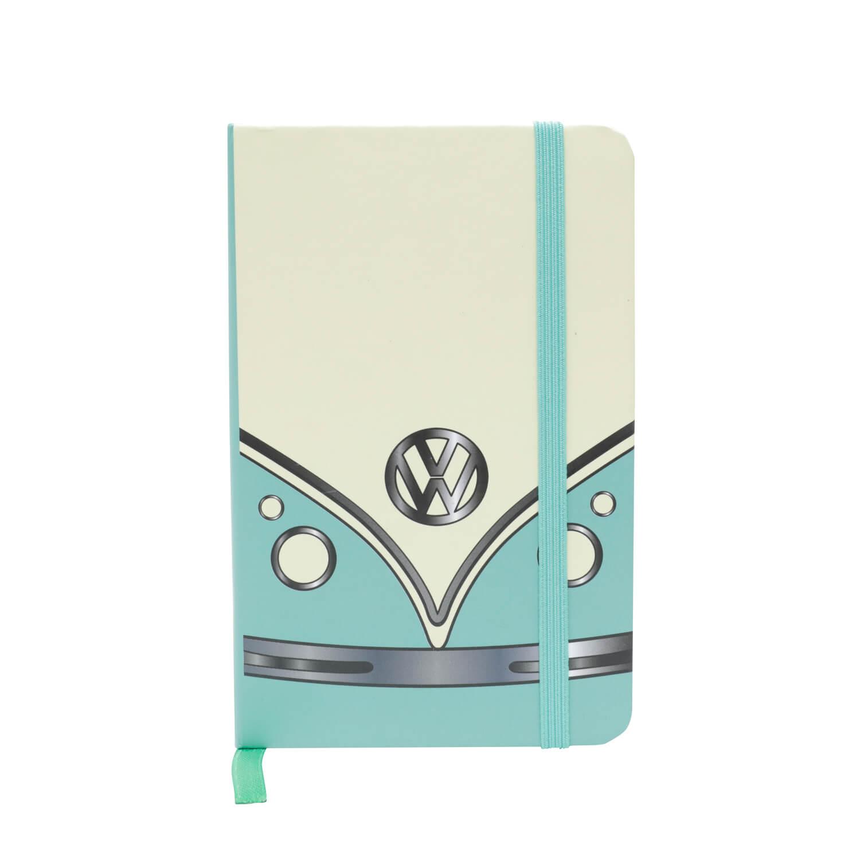 Caderneta de Anotação VW - Kombi Face - Verde / Amarelo - 96 folhas