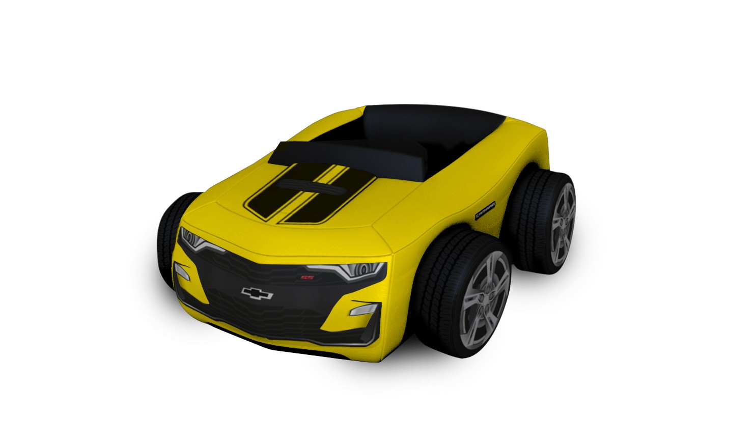 Caminha Chevrolet Camaro - Amarela