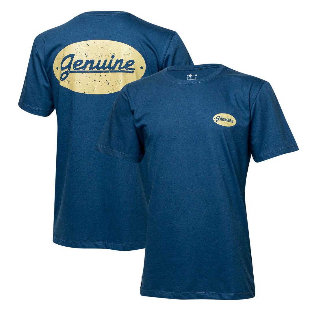 Camiseta Masc. Chevrolet Genuine - Azul Marinho