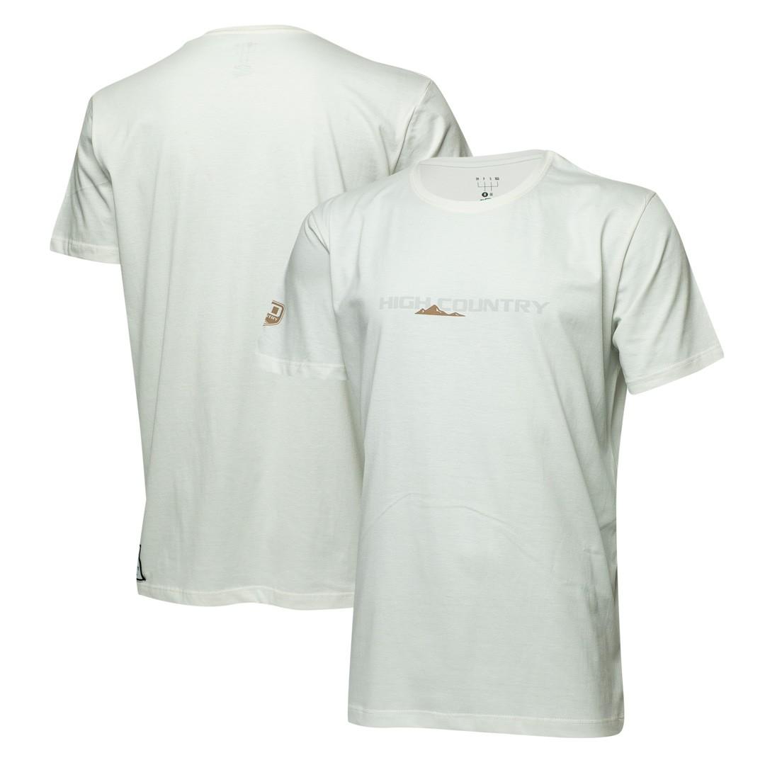 Camiseta Masc. Chevrolet High Country - Branco