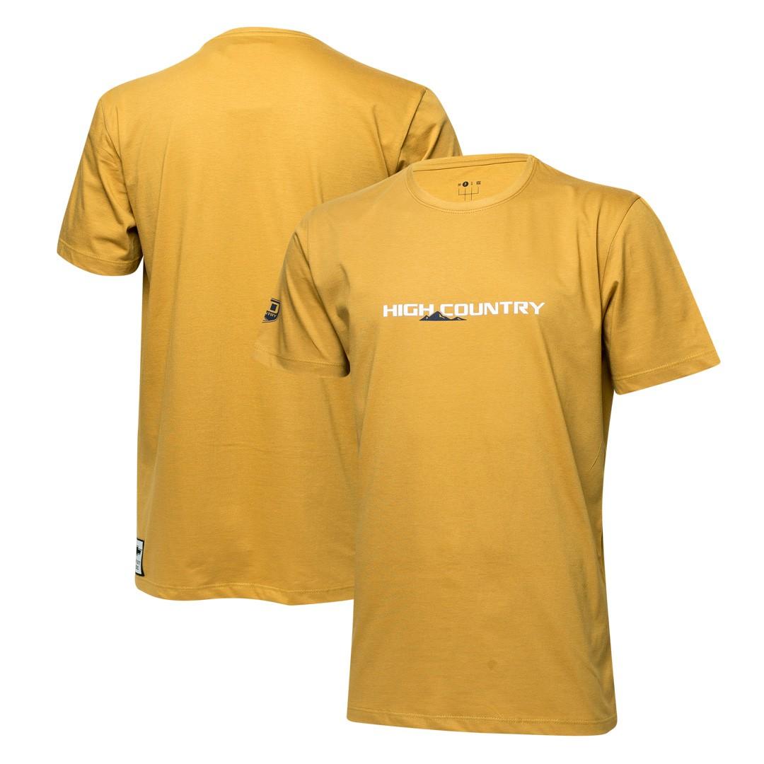 Camiseta Masc. Chevrolet High Country - Mostarda