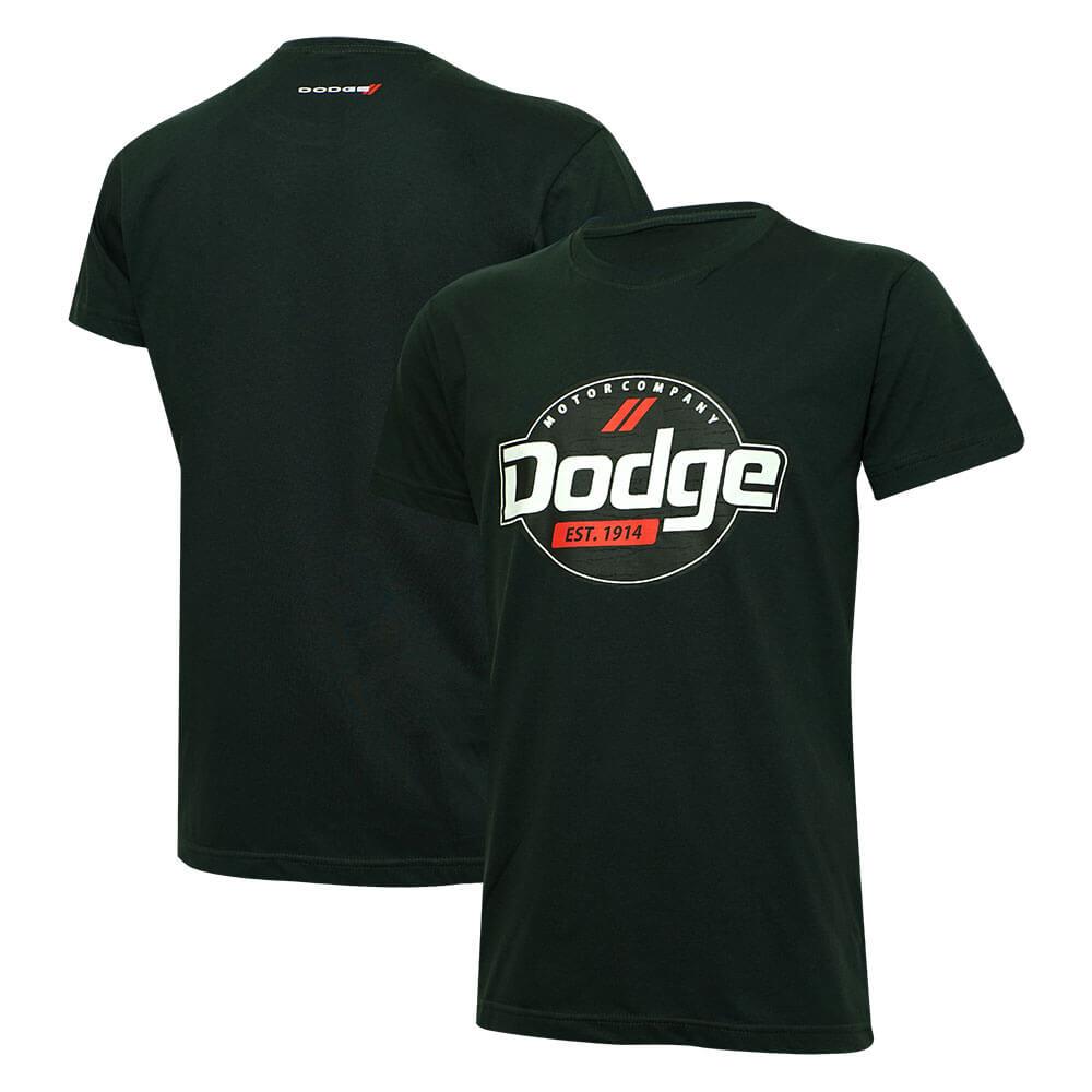 Camiseta Masc. Dodge Motor Company - Chumbo