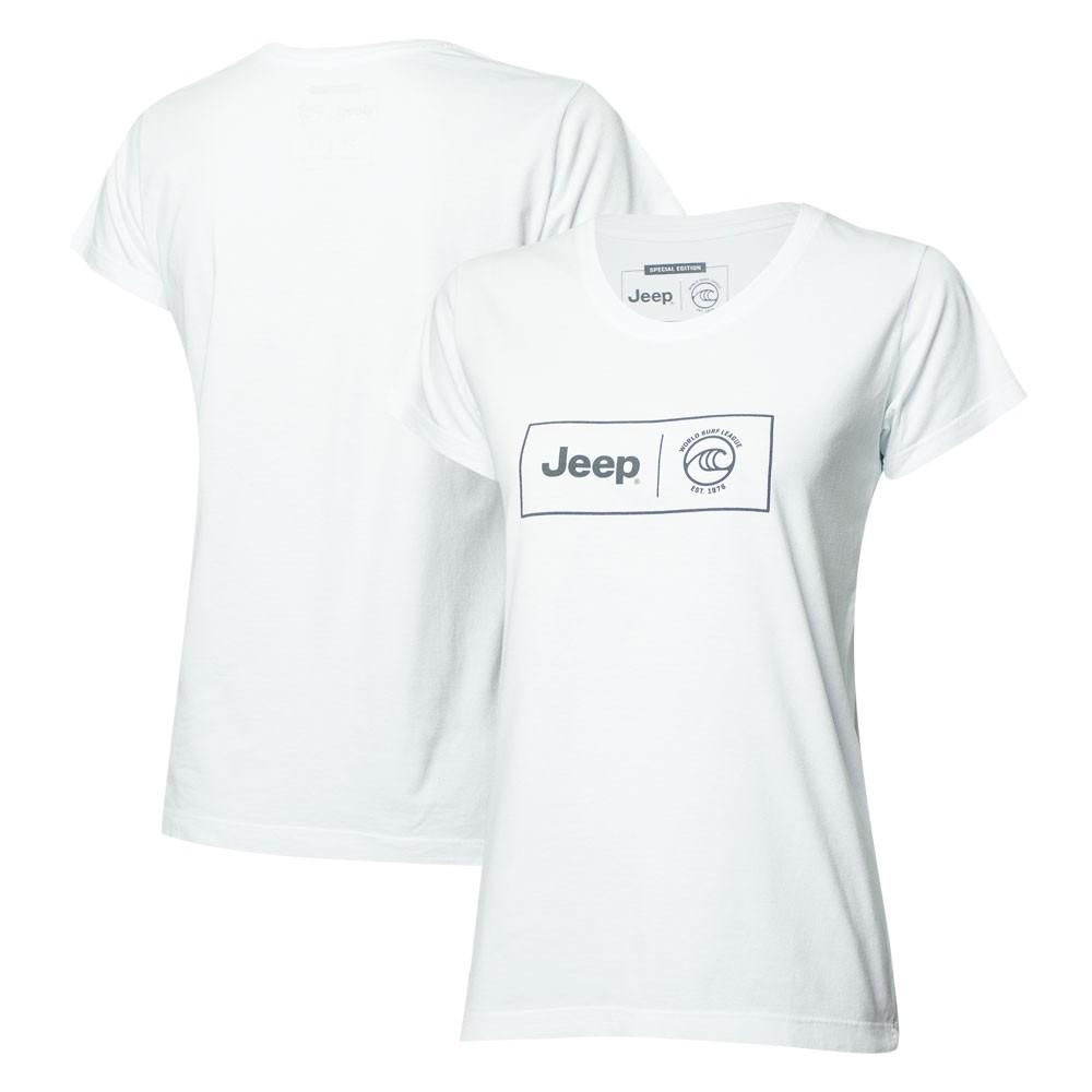 Camiseta Fem. JEEP I WSL Box Collab  - Branca
