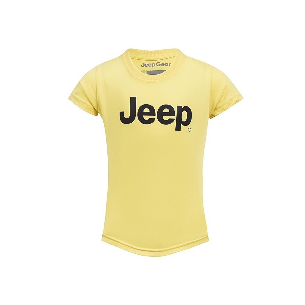 Camiseta Inf. Jeep Clássica - Amarelo Claro