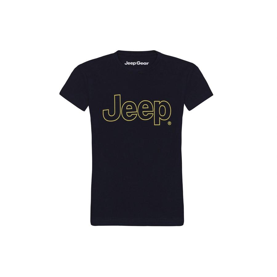 Camiseta Inf. Jeep Clássica - Azul  Marinho