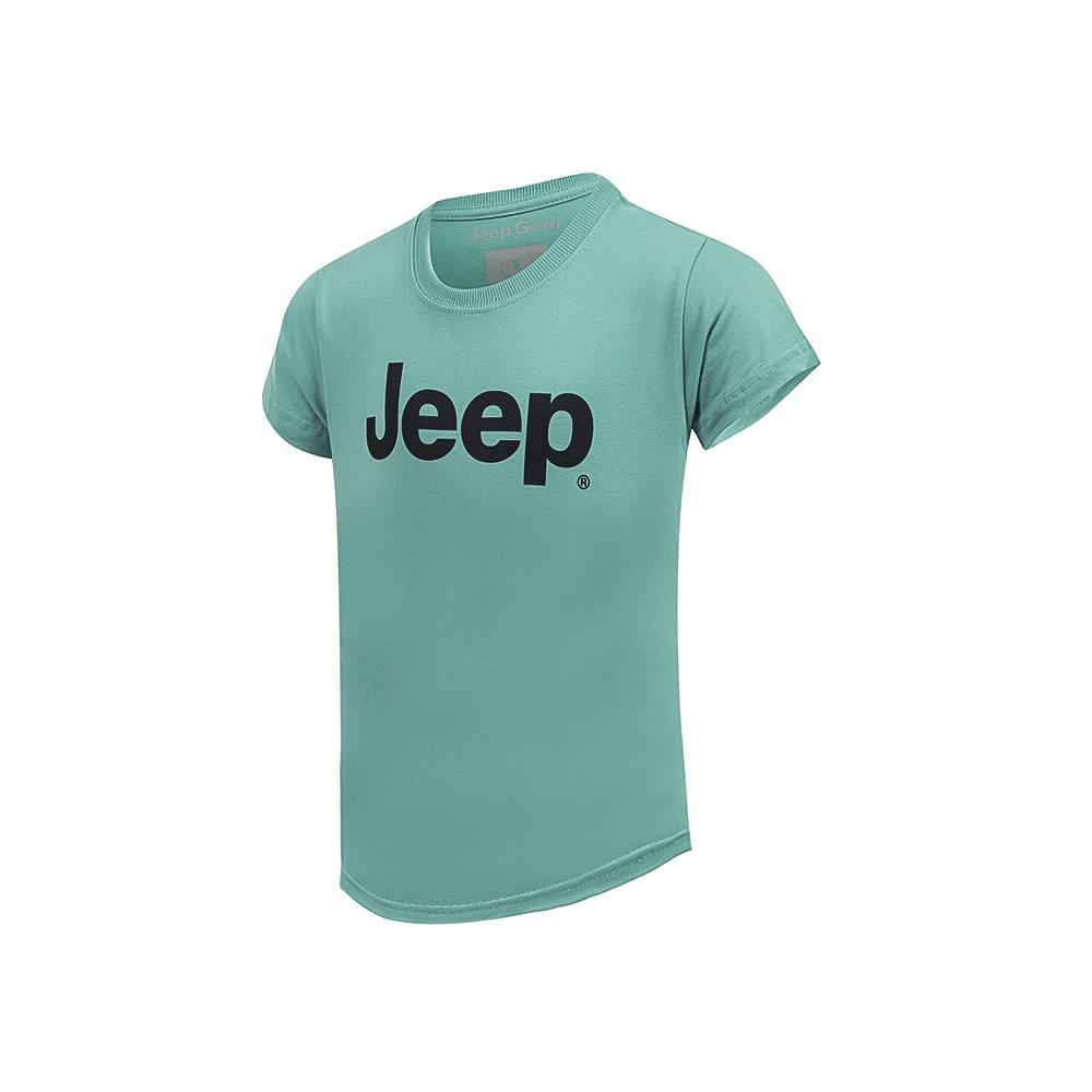 Camiseta Inf. Jeep Clássica - Oceano
