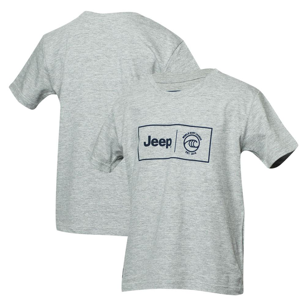 Camiseta Inf. JEEP I WSL Box Collab - Cinza Mescla