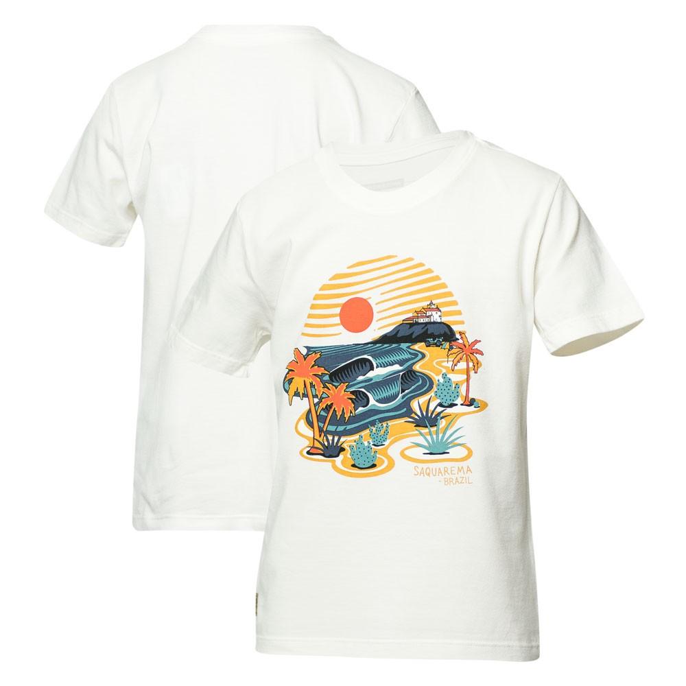 Camiseta Inf. JEEP I WSL Saquarema - Off White