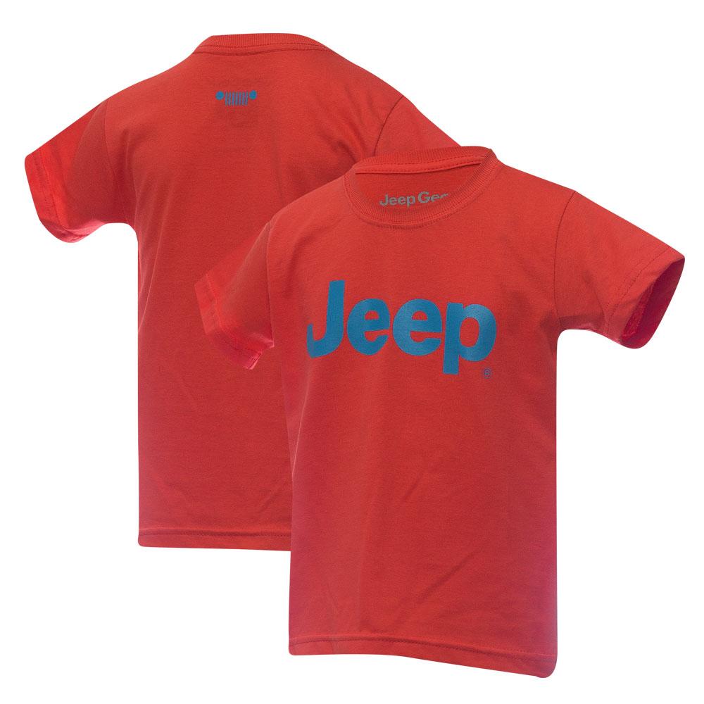 Camiseta Inf. JEEP Logo - Abóbora