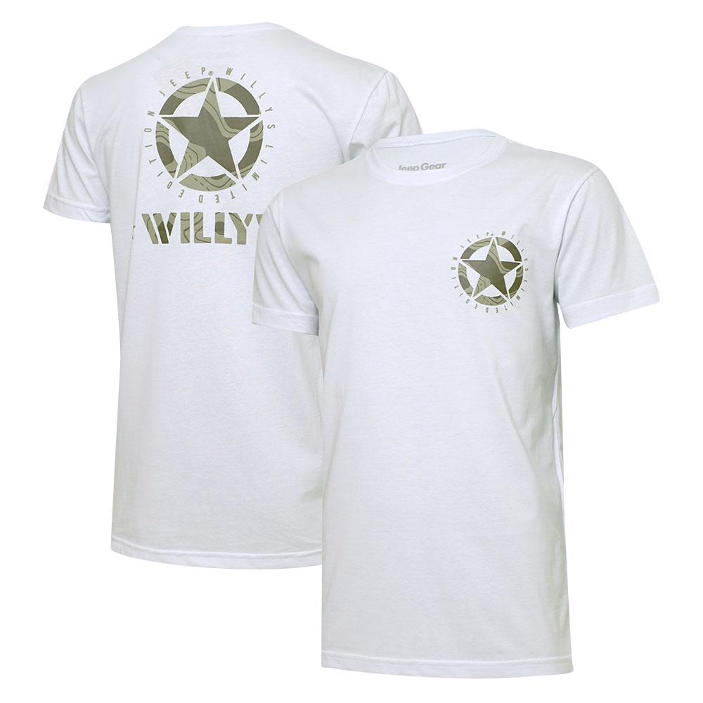 Camiseta Masc. Jeep Limited Edition Willys Star - Branca