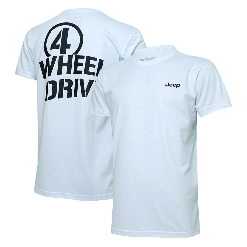 Camiseta Masc. Jeep Limited Edition Willys 4WD- Branca