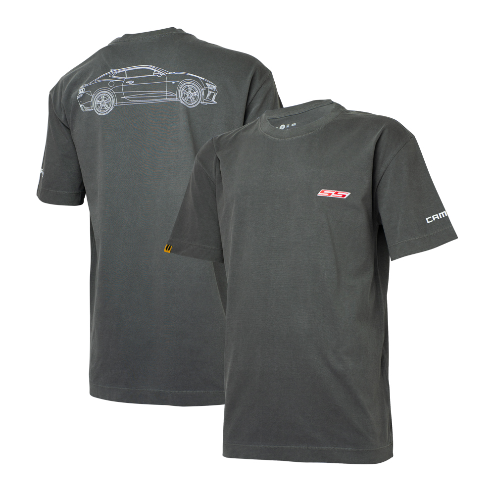Camiseta Masc. Chevrolet Camaro SS Estonada - Preta