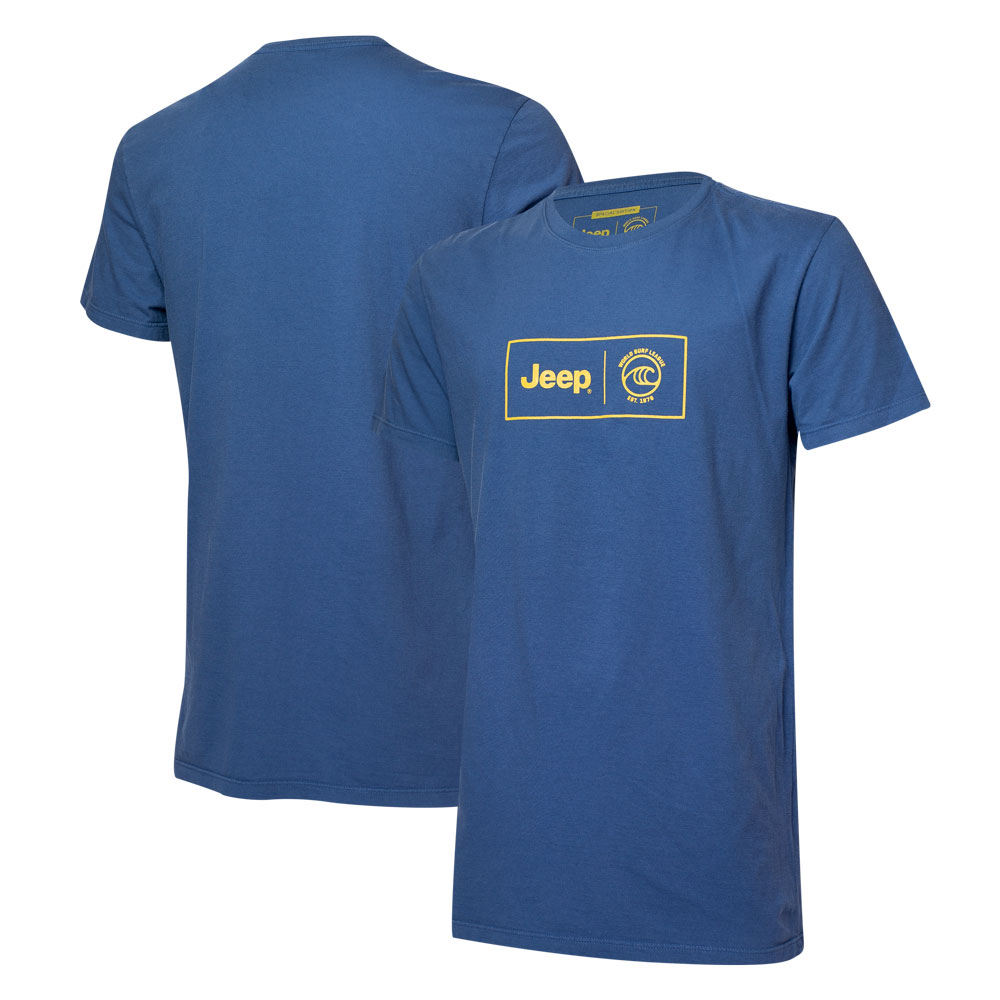 Camiseta Masc. JEEP I WSL Box Collab  - Azul Marinho