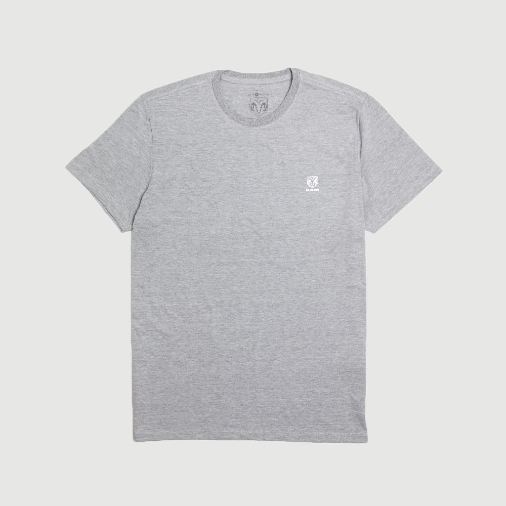 Camiseta Masculina RAM Basic - Cinza Mescla