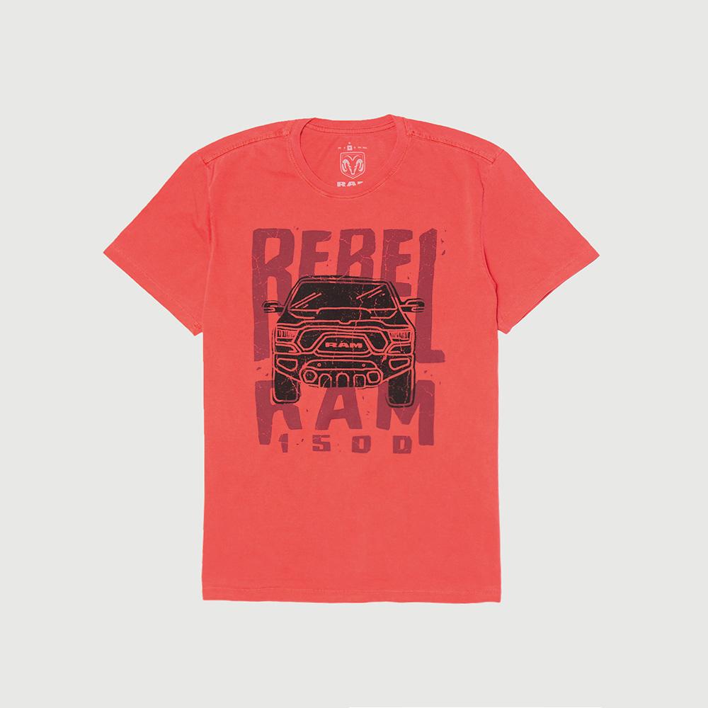 Camiseta Masculina RAM Rebel Trembling - Vermelha
